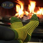 Chaussettes classiques en mohair, taille 37 – 39