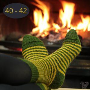 Chaussettes classiques en mohair, taille 40 – 42