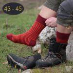 Chaussettes classiques en mohair, taille 43 – 45