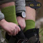 Chaussettes classiques en mohair, taille 46 – 48
