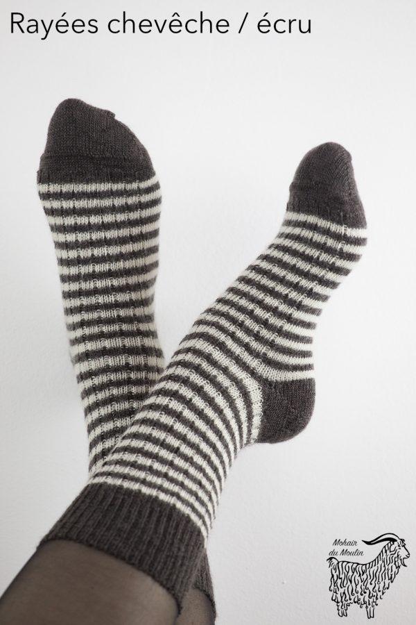 Chaussettes classiques en mohair