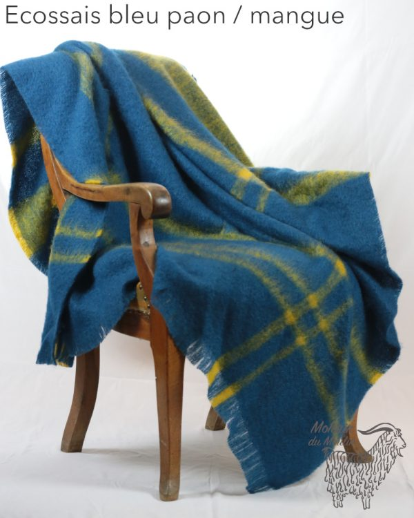 Grand plaid mohair
