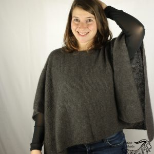 Poncho mohair « Claudia »