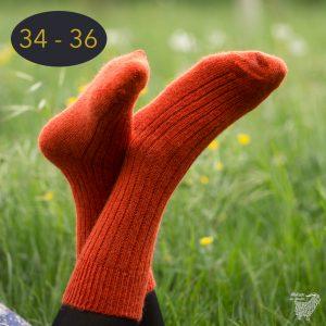 Chaussettes classiques en mohair, taille 34 – 36