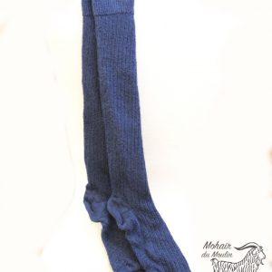 Chaussettes longues en mohair