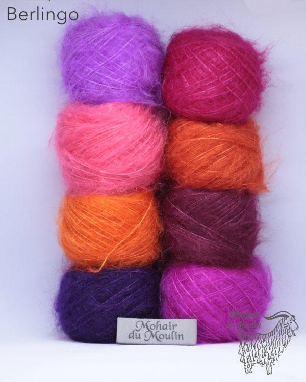 kit de 8 couleurs